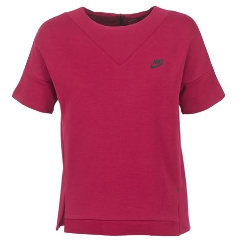 Fleece Crew Tech Nike Bordeaux K1lJcTF