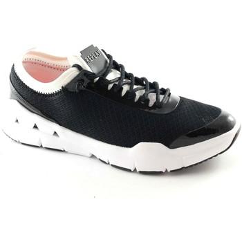 Scarpe Replay  RS390003S HAUTE nero bianco scarpe donna sneakers lacci tessuto