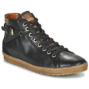 Scarpe Donna Sneakers alte Pikolinos LAGOS 901 Nero