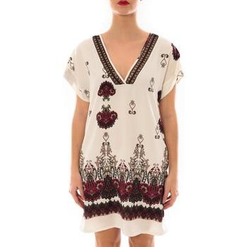 Abbigliamento Donna Abiti corti Jad Robe Rina imprimée Blanc/Rouge Bianco