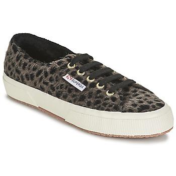 Scarpe Donna Sneakers basse Superga 2750 LEOPARDHORSEW Leopard