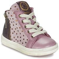Scarpe Bambina Sneakers alte Acebo's MARLIE Rosa