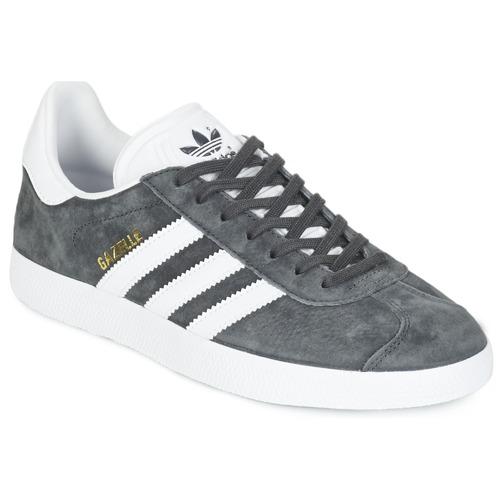Scarpe Sneakers basse adidas Originals GAZELLE Grigio / Scuro