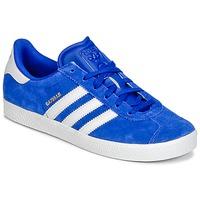 Scarpe Bambino Sneakers basse adidas Originals GAZELLE 2 J Blu