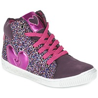 Scarpe Bambina Sneakers alte Agatha Ruiz de la Prada BUSOULI Viola
