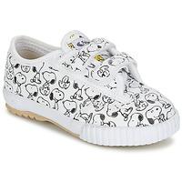 Scarpe Bambino Sneakers basse Feiyue FE LO SNOOPY EC Bianco