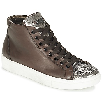Scarpe Donna Sneakers alte Tosca Blu ALEXA Marrone / Argento