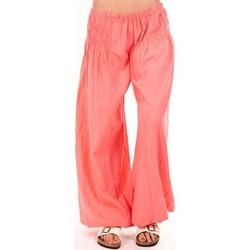 Abbigliamento Donna Pantaloni morbidi / Pantaloni alla zuava By La Vitrine Sarouel Medina corail Arancio