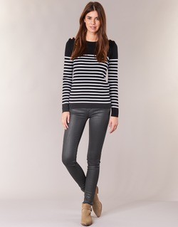 Abbigliamento Donna Jeans slim Cimarron ROSIE DENM WAX Nero