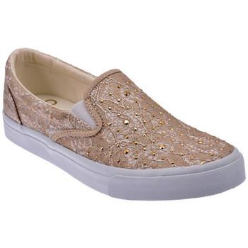Scarpe Liu Jo  Pizzo Taupe Slip On Sneakers