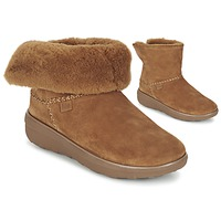 Scarpe Donna Stivaletti FitFlop SUPERCUSH MUKLOAFF SHORTY Nocciola