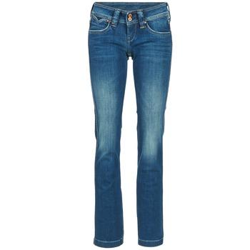 Abbigliamento Donna Jeans dritti Pepe jeans BANJI Blu