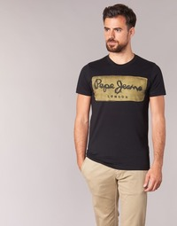 Abbigliamento Uomo T-shirt maniche corte Pepe jeans CHARING Nero