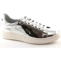 Scarpe Donna Sneakers basse Caf㨠Noir DD930 argento grigio scarpe donna sheakers basse lacci Argento