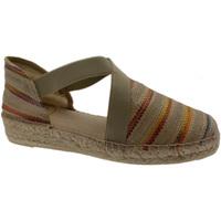 Scarpe Donna Sandali Toni Pons scarpa sandalo chiuso corda beige natural righe art EDEN animal blu