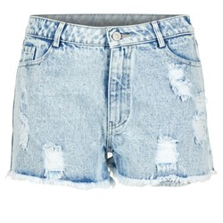 Abbigliamento Donna Shorts / Bermuda Yurban EVANUXE Blu / Clair