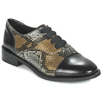 Scarpe Donna Derby Lollipops YTON DERBY Nero / Bronzo