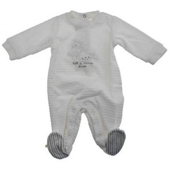 Abbigliamento Unisex bambino Tuta jumpsuit / Salopette Chicco Tutina Girl Neonati bianco