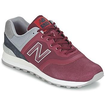 Scarpe Sneakers basse New Balance MTL574 Rosso / Grigio