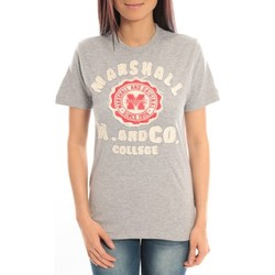 Abbigliamento Donna T-shirt maniche corte Sweet Company T-shirt Marshall Original M and Co 2346 Gris Grigio