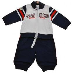 Abbigliamento Unisex bambino Tuta jumpsuit / Salopette Chicco Motors Neonati bianco/blu