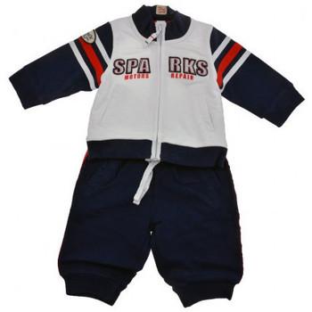 Abbigliamento Unisex bambino Tuta jumpsuit   Salopette Chicco Motors Neonati  bianco blu bb8611ac2ab