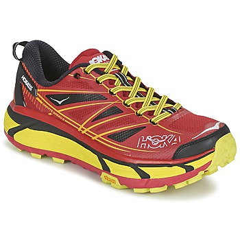 Scarpe Uomo Running / Trail Hoka one one MAFATE SPEED 2 Rosso / Limone
