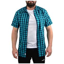 Abbigliamento Uomo Camicie maniche corte Jack & Jones Chess Manica Corta Camicie multicolore