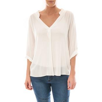Abbigliamento Donna Top / Blusa Barcelona Moda Top Billy Blanc Bianco