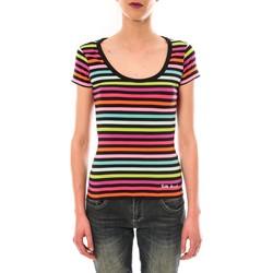 Abbigliamento Donna T-shirt maniche corte Little Marcel t-shirt line GCR MC 229 Multicolore
