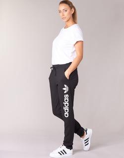 Abbigliamento Donna Pantaloni da tuta adidas Originals LIGHT LOGO TP Nero