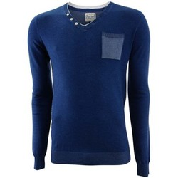 Maglioni Petrol Industries Round neck double collar knit