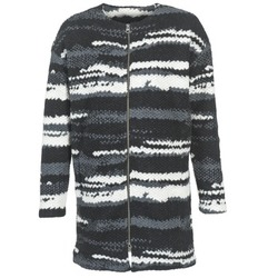 Abbigliamento Donna Cappotti Bench EVENING Nero / Bianco / Grigio