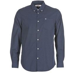 Abbigliamento Uomo Camicie maniche lunghe Vicomte A. JANOUPE Marine