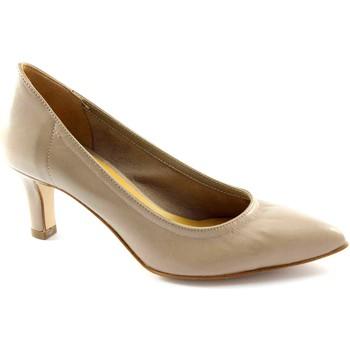 Scarpe Donna Più  DONNA PIù MANì M52251 beige decolletè donna elasticizzato sfoder