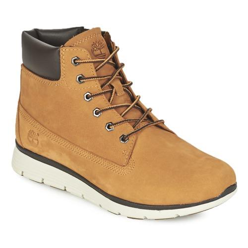 Scarpe Unisex bambino Sneakers alte Timberland KILLINGTON 6 IN Grano