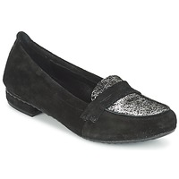Scarpe Donna Mocassini Regard REMAVO Nero / Velours