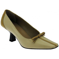 Scarpe Donna Décolleté Alternativa DecolteTaccoLargoFioccoDecolté beige