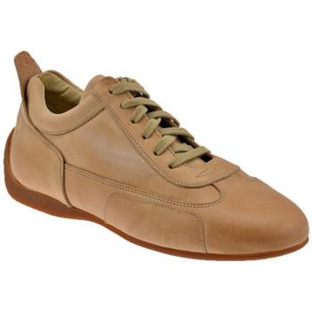 Scarpe Uomo Sneakers alte Bocci 1926 Slim Sneakers beige