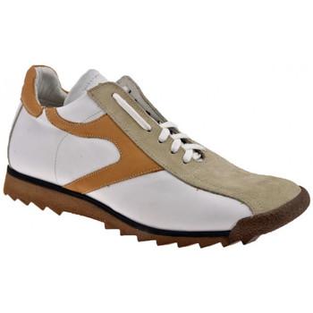 Scarpe Uomo Sneakers alte Bocci 1926 SoccerSneakers bianco