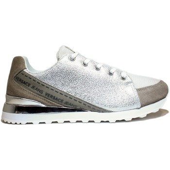 Scarpe Donna Sneakers basse Versace Jeans VERSACE J E0VNBSB2 75557 807 SCARPE DONNA SNEAKER CON TACCO, TAC grigio