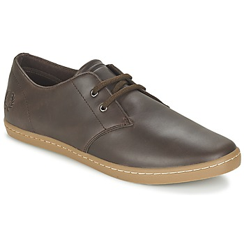 Scarpe Uomo Sneakers basse Fred Perry BYRON LOW LEATHER Marrone