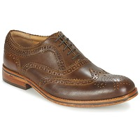 Scarpe Uomo Derby Hudson KEATING CALF Brown