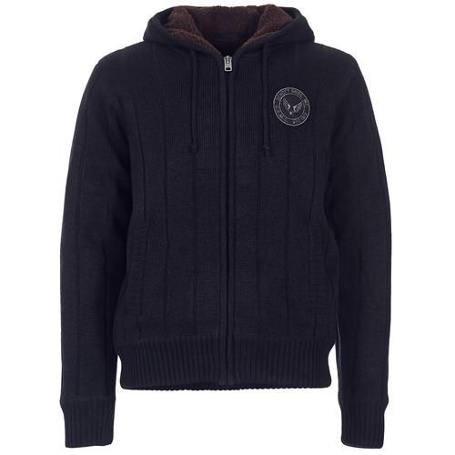 Uomo 10000 Zapinanim Dunlin Consegna Gratuita Schott Abbigliamento SvetrySe Nero bIgv67mYfy