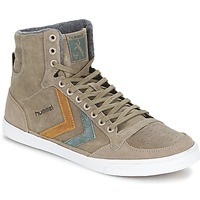 Scarpe Sneakers alte Hummel TEN STAR DUO OILED HIGH Marrone