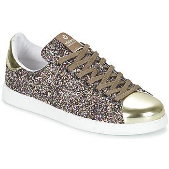 Scarpe Donna Sneakers basse Victoria DEPORTIVO BASKET GLITTER Multicolore