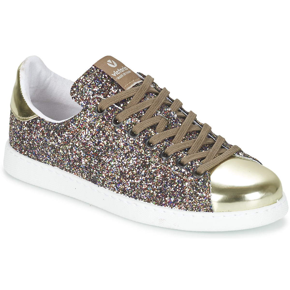 victoria deportivo basket glitter multicolore consegna gratuita con scarpe. Black Bedroom Furniture Sets. Home Design Ideas