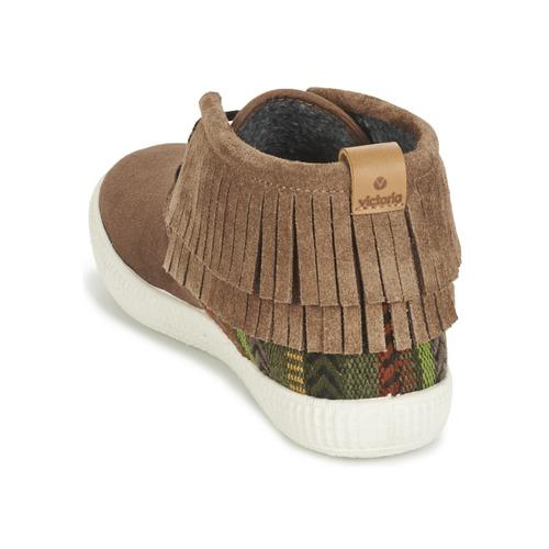 Flecos Sneakers Safari Alte Donna Gratuita Scarpe Consegna Victoria 2950 Marrone Antelina Etnic N80mvwnO
