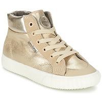 Scarpe Bambina Sneakers alte Victoria BOTA METALIZADA PU Oro