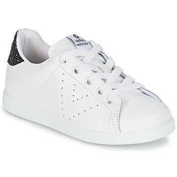 Scarpe Bambina Sneakers basse Victoria DEPORTIVO BASKET PIEL KID Bianco